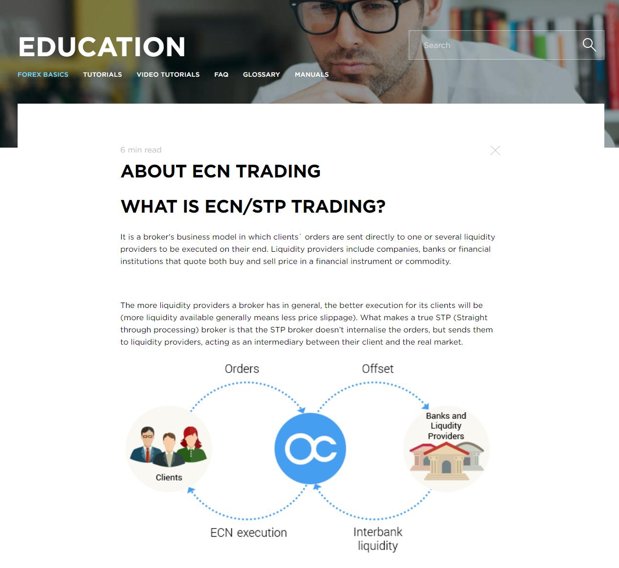 OctaFX Education