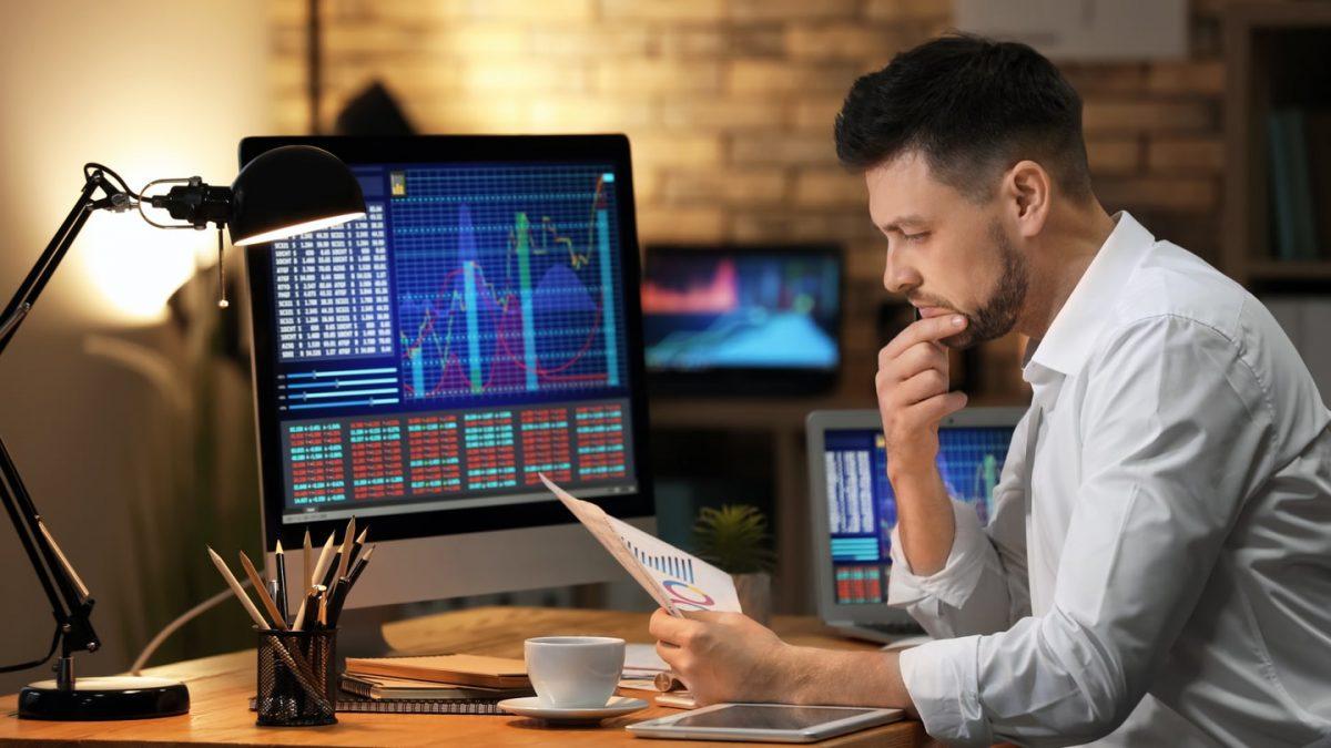 Trader thinking