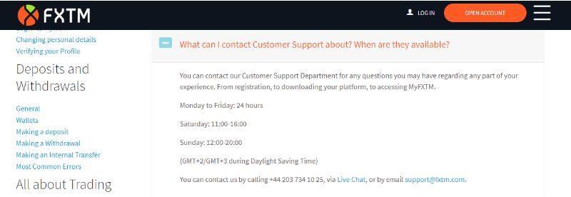 Customer Service Hour