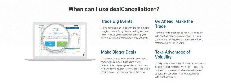EasyMarkets DealCancellation
